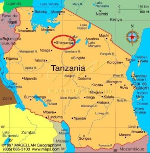Shinyanga-and-Mwadui-Mine-location-marked-in-red-circle