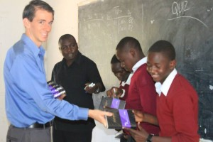 American missionary teacher in Tanzania