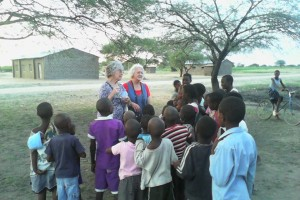 vbs with children in Tanzania