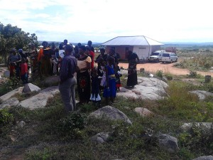 kahama gathers to consecrate ground