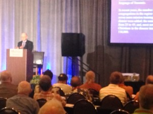 bob presenting at 2015 convention about SELVD