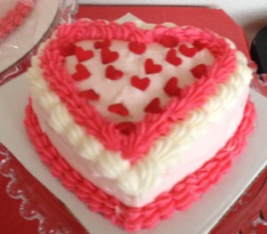 cake from ctk bake sale