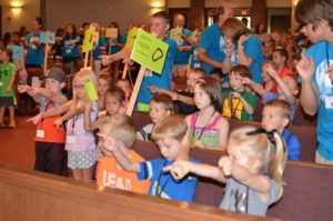 vbs group in church