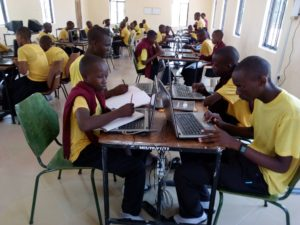 Tanzanian students pay close attention to E-learning programs